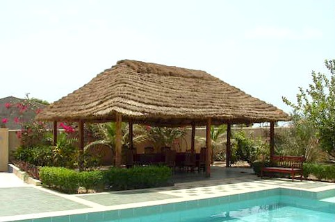 Maison Chic - Bamboo Wood Gazebo in UAE-DUBAI-RAK...