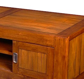 56780CI TV Buffet 2 Drawers 130x50x42cm