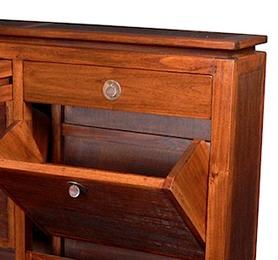 BLC039 Shoe Cabinet Large 113x20x105cm
