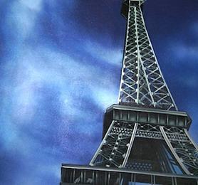 HPC379 Eiffel Tower 100x4x120 cm