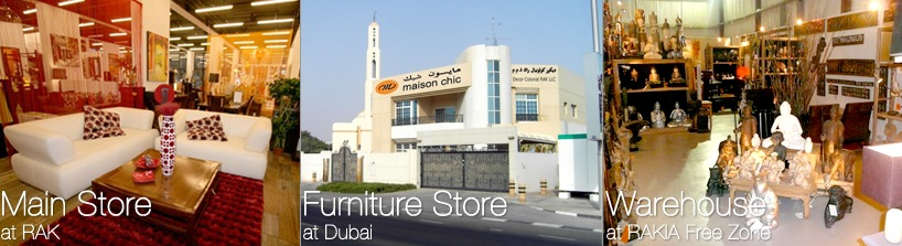 Direct import to our furniture stores in RAK at factory price...